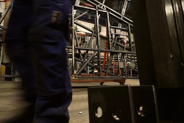 Bayreuther Festspiele Ring Kulissenbau Stahlbau